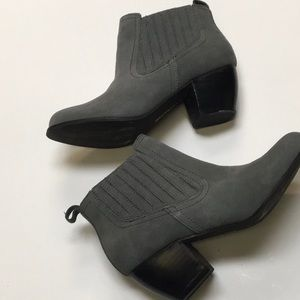 New Restricted Gray bootie size 6